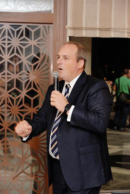 Monsieur Christian Tomandl, Directeur Général de l'hôtel Sheraton Tunis