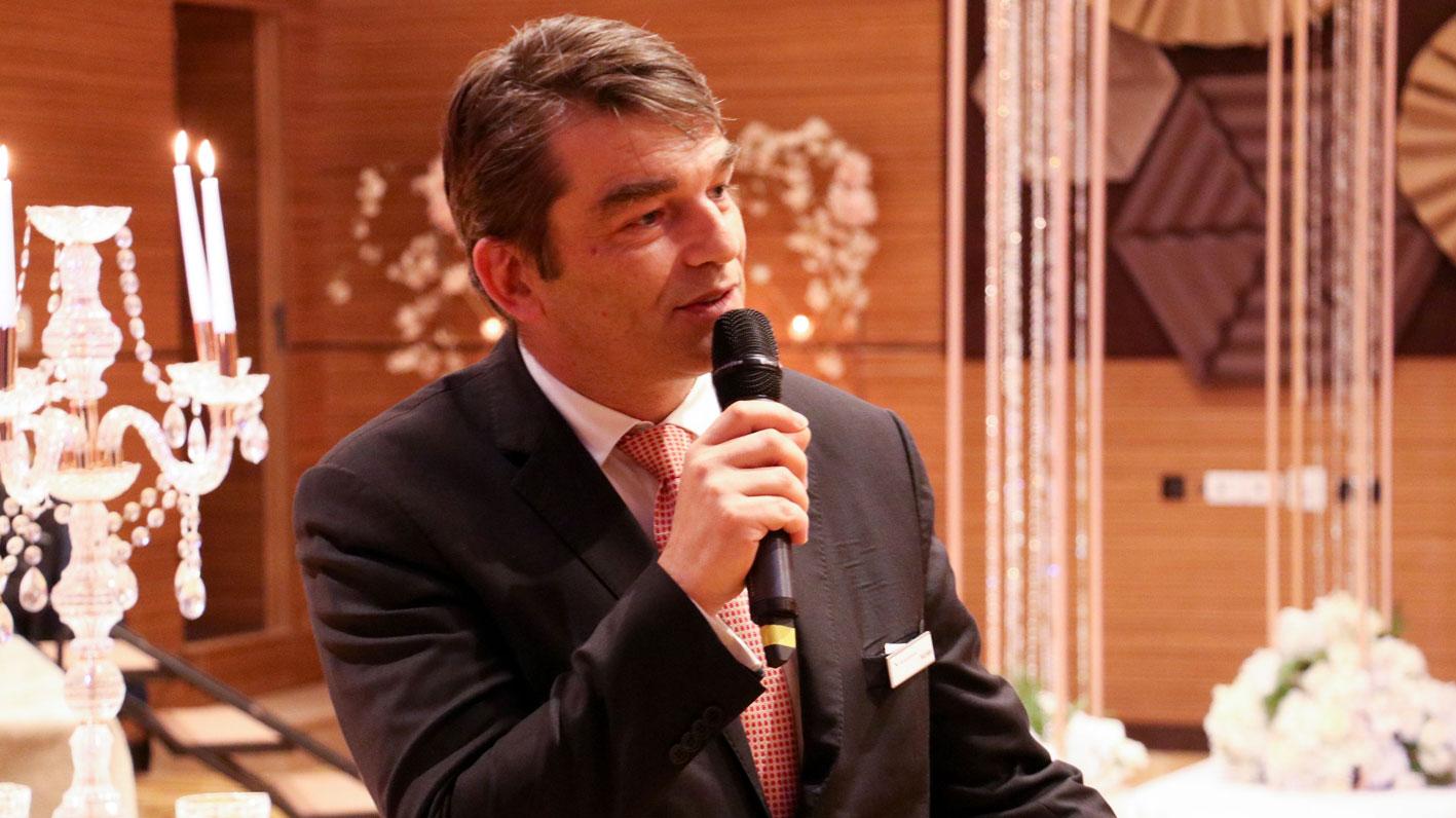 M. Nicolas Pezout, Directeur Général du Mövenpick Hotel du Lac Tunis