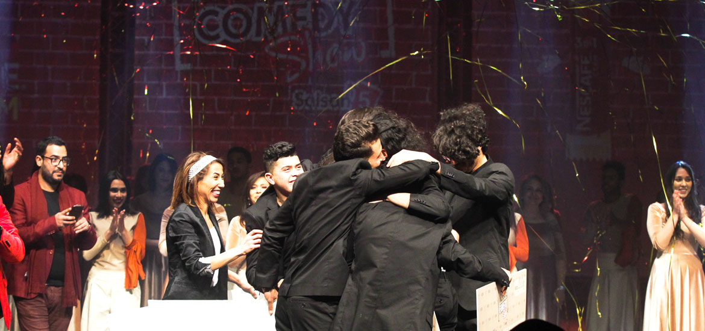 Finale 5ème saison Nescafé Comedy Show gagnant Ahmed Laajimi