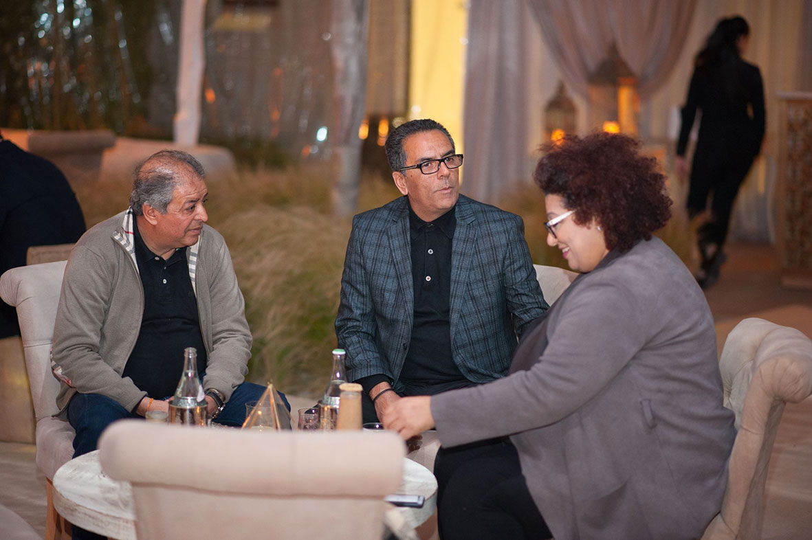 Jalel Jeddi et Ameni Boulaares au Four Seasons Hotel Tunis
