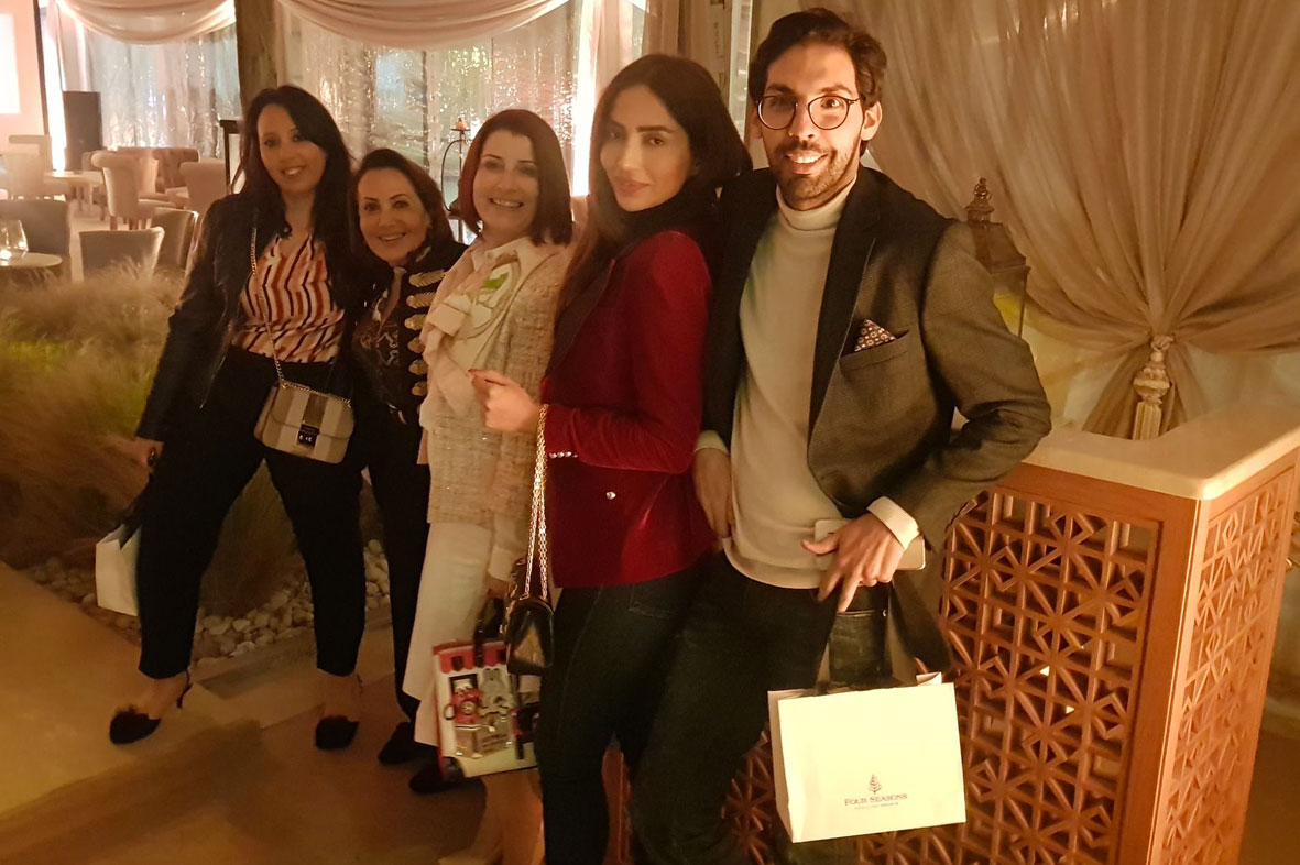 Kamel ben Othman, Fakhta Hachicha, Alya Cherichi au Four Seasons Hotel Tunis
