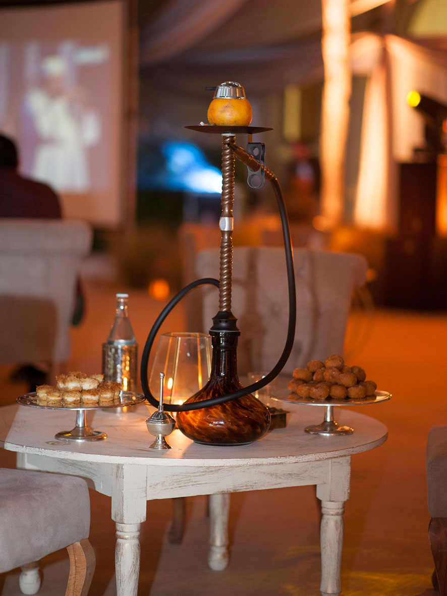 La chicha Ramadan au Four Seasons Hotel Tunis Zeyna