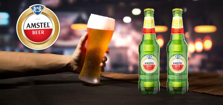 Amstel 33 cl bière en bouteille retournable