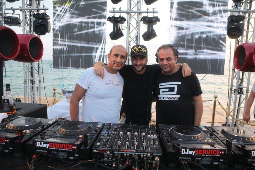 DJ tunisiens avec Naty Ricco_ Beach Party Radisson Blu Djerba Vol 4