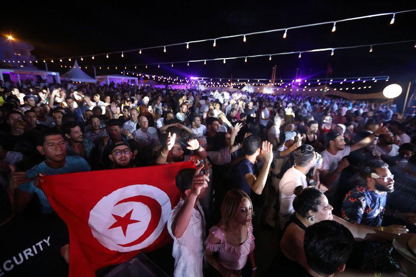 spectateurs_ Beach Party Radisson Blu Djerba Vol 4