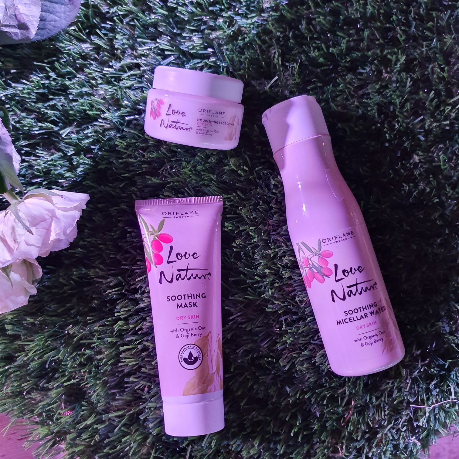 Oriflame Tunisie Love Nature Peaux Sèches