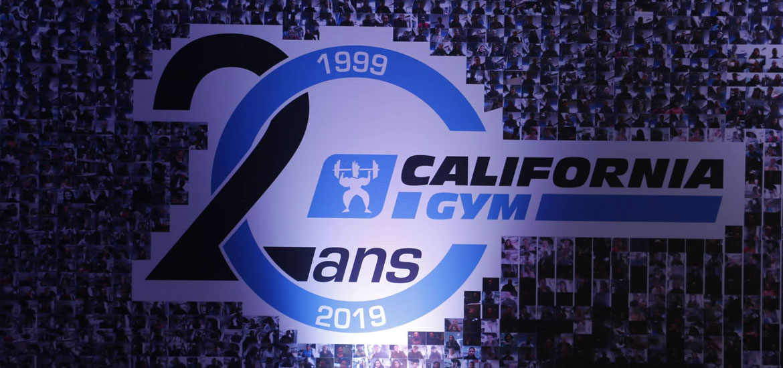 California Gym 20eme anniversaire Zeyna