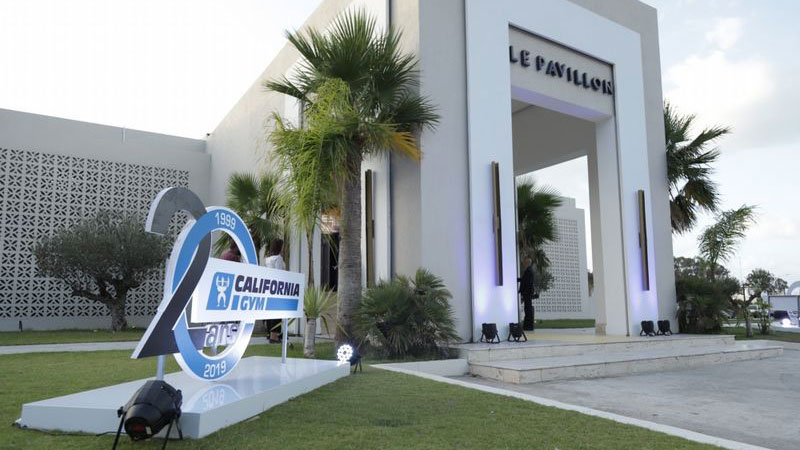 California Gym 20eme anniversaire Zeyna Pavillon Gammarth