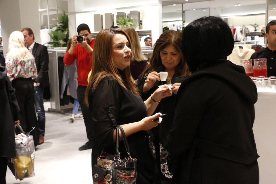 H&M opening Tunis City Journalistes