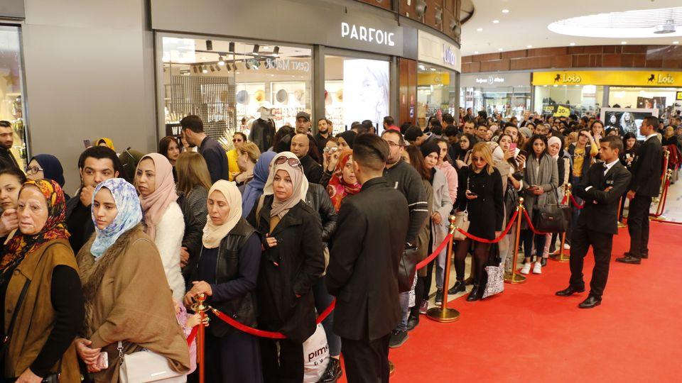 H&M opening Tunis City