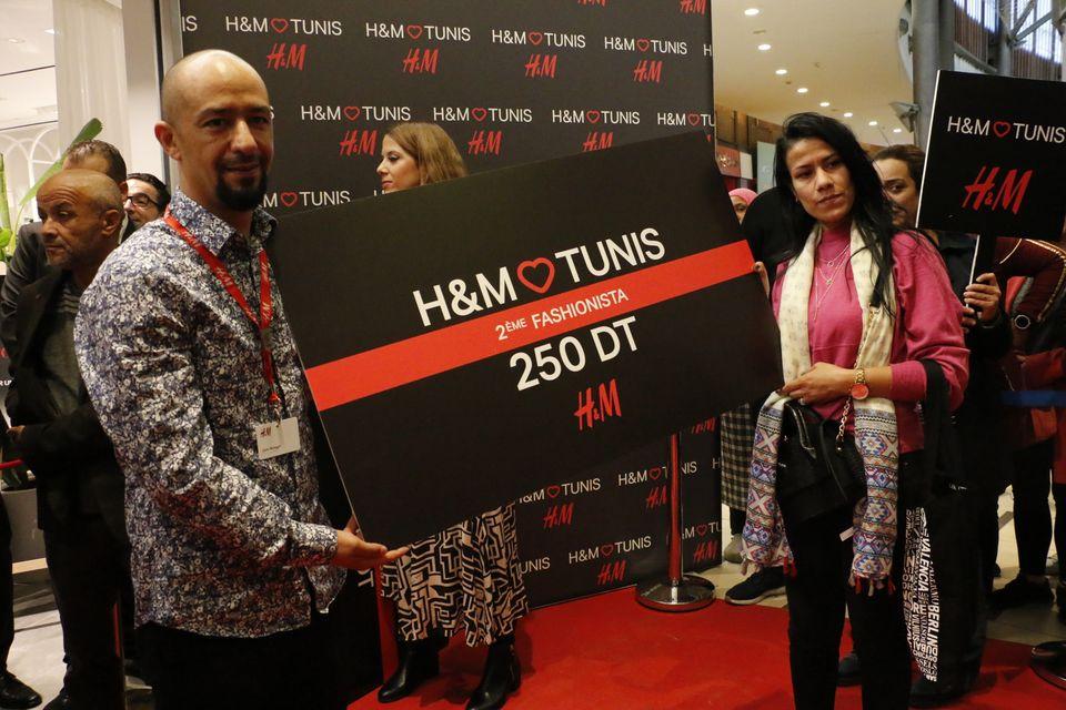 H&M opening Tunis City cadeau fashionista