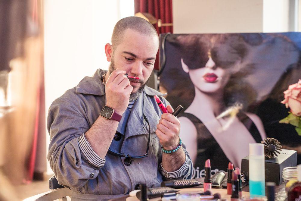 Diego Dalla Palma Steevy makeup artist