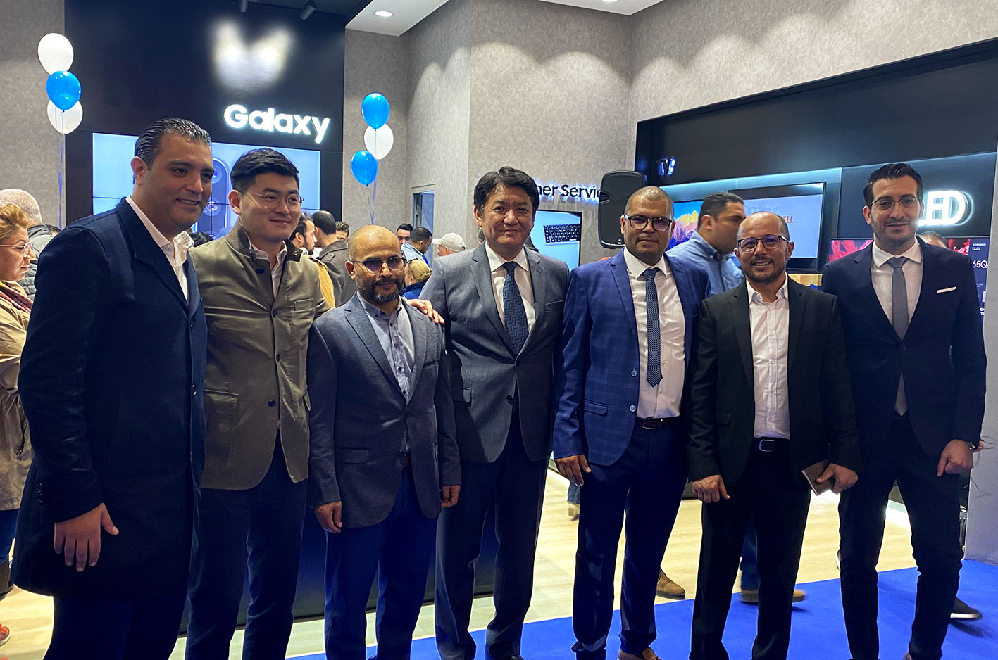 Samsung inauguration brand shop Azur City