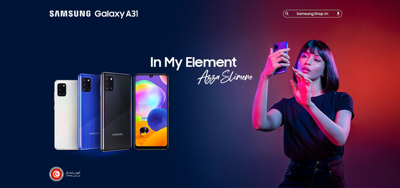 Samsung Galaxy A31 Zeyna Azza Slimane