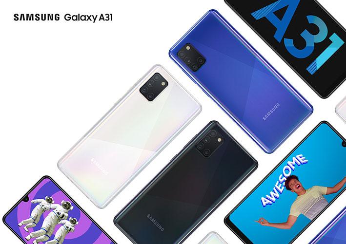 Samsung Galaxy A31 Gamme Zeyna