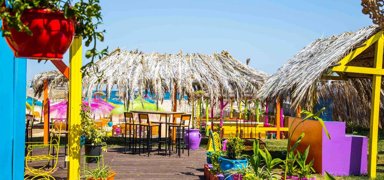 Pura Vida Beach Yasmine Hammamet Houda Hôtel